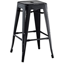 Promenade Counter Stool, Black, Metal 10083