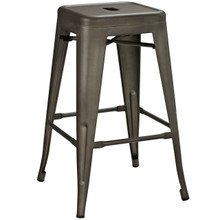Promenade Counter Stool, Brown, Metal 10084