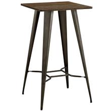 Direct Bar Table, Brown, Metal 10092