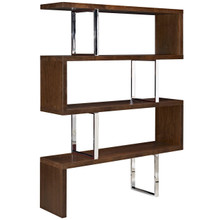Meander Stand, Brown, Wood 10099
