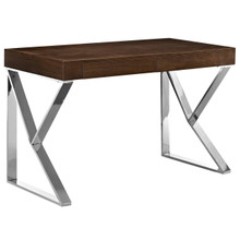Adjacent Desk, Brown, Wood 10101