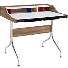 Sculpt Desk, Brown, Wood 10127