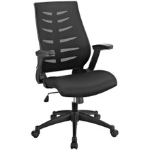 Force Mesh Office Chair, Black, Fabric 10130
