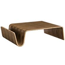Polaris Wood Coffee Table, Brown, Wood 10163