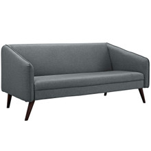 Slide Upholstered Sofa, Grey, Fabric 10251