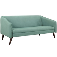 Slide Upholstered Sofa, Blue, Fabric 10252