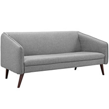 Slide Upholstered Sofa, Grey, Fabric 10253