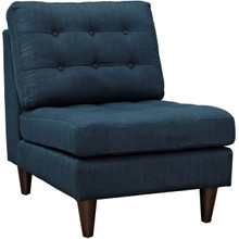 Empress Upholstered Lounge Chair, Navy, Fabric 10297