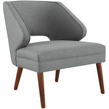 Dock Upholstered Fabric Armchair, Grey, Fabric 10336