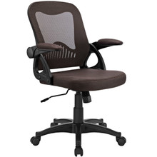 Advance Office Chair, Brown, Fabric 10352