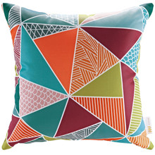 Modway Outdoor Patio Pillow, Multi, Fabric 10359