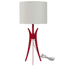Flair Table Lamp in White