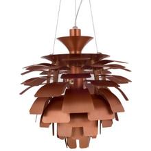 """Petal 28"""" Chandelier in Copper"""