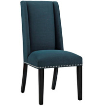 Baron Fabric Dining Chair, Navy, Fabric 10788