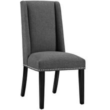 Baron Fabric Dining Chair, Grey, Fabric 10793