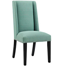 Baron Fabric Dining Chair, Blue, Fabric 10794