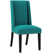 Baron Fabric Dining Chair, Blue, Fabric 10797