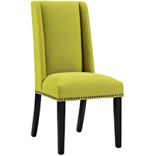 Baron Fabric Dining Chair, Green, Fabric 10798