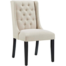 Baronet Fabric Dining Chair, Beige, Fabric 10802