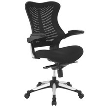 Charge Office Chair, Black, Fabric 10929