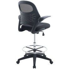 Advance Drafting Chair, Black, Fabric 10934