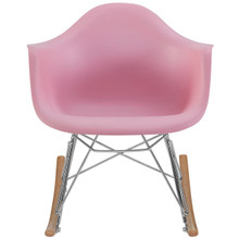 Rocker Kids Chair, Pink, Plastic 10937