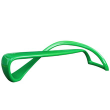 Mobius Bench, Green, Plastic 10984