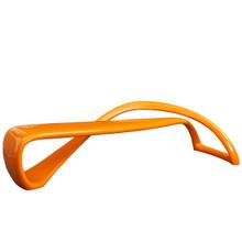 Mobius Bench, Orange, Plastic 10985