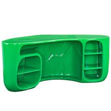 Impression Desk, Green, Plastic 10987