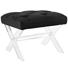 Swift Bench, Black, Fabric 11001