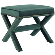 Rivet Bench, Green, Fabric 11007
