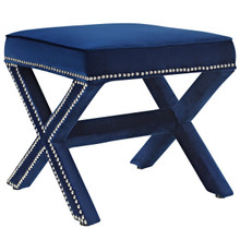Rivet Bench, Navy, Fabric 11010