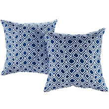 Modway Two Piece Outdoor Patio Pillow Set, Multi, Fabric 11208