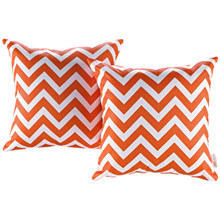 Modway Two Piece Outdoor Patio Pillow Set, Multi, Fabric 11211