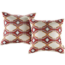 Modway Two Piece Outdoor Patio Pillow Set, Multi, Fabric 11216