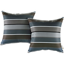 Modway Two Piece Outdoor Patio Pillow Set, Multi, Fabric 11217