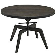 Grasp Wood Top Coffee Table in Black