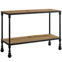 Raise Wood TV Stand, Brown, Wood 11714