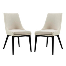 Viscount Dining Side Chair Fabric, Beige, Fabric 11856