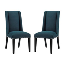 Baron Dining Chair Fabric Set of 2, Navy, Fabric 11875