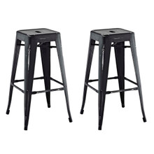 Promenade Bar Stool, Black, Metal 11928