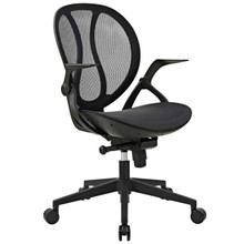 Conduct All Mesh Office Chair, Black, Fabric 11951