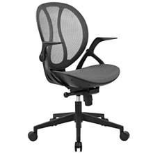 Conduct All Mesh Office Chair, Grey, Fabric 11952