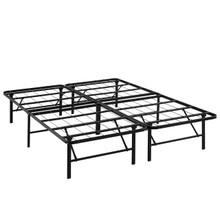 Horizon Full Stainless Steel Bed Frame, Brown, Metal 12252