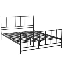 Estate King Bed, Brown, Metal 12397