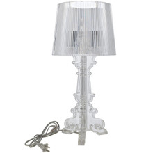 Europe Acrylic Table Lamp in Clear