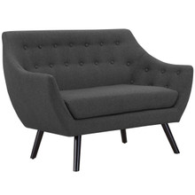 Allegory Loveseat, Grey, Fabric 13103