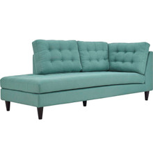 Empress Upholstered Fabric Bumper, Blue, Fabric 13146