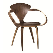 Wooden Arm Chair, Brown, Wood 13302