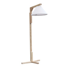 Spiral Floor Lamp, Brown, Wood 13317